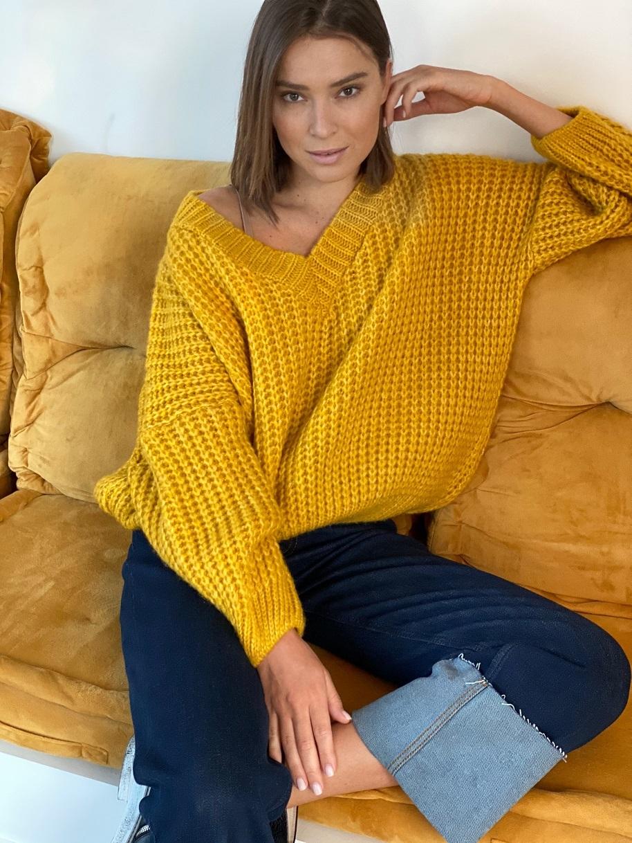 Пуловер, Pola, Twiggy (желтый)