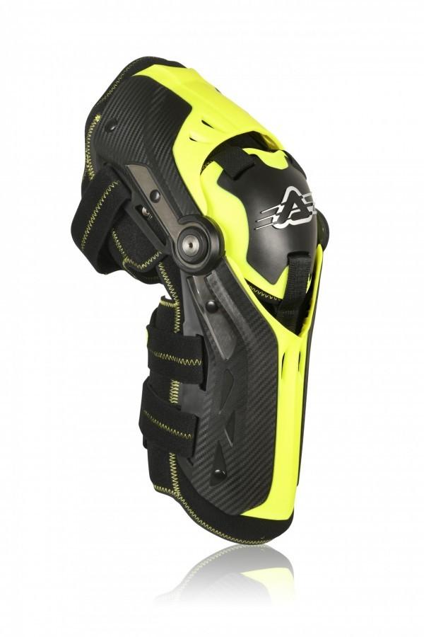 ACERBIS GORILLA KNEE GUARDS black/yellow