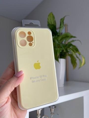 Чехол iPhone 11 Pro Max Silicone Case Full Camera /mellow yellow/