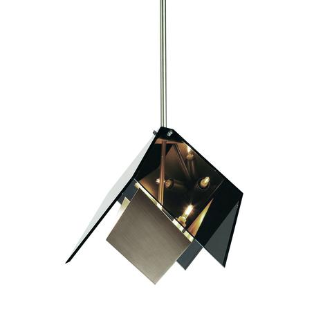 Подвесной светильник копия MAXEDRON by Roll & Hill (дымчатый+серебряный)