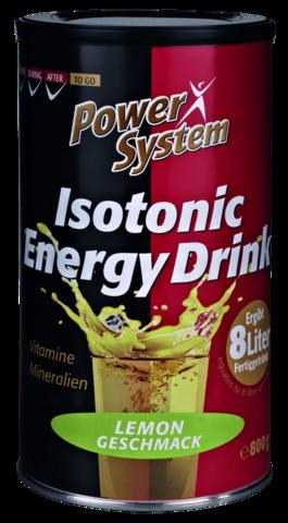 Изотонический энергетический напиток, 800гр. Пауэр систем лимон