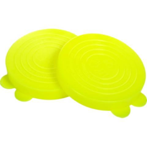 Крышка для закрывания банок цветная пластик 10шт