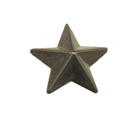 Звезда на погоны пласт. 13 мм защ.
