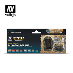 Wizkids premium set by vallejo: dungeon depths