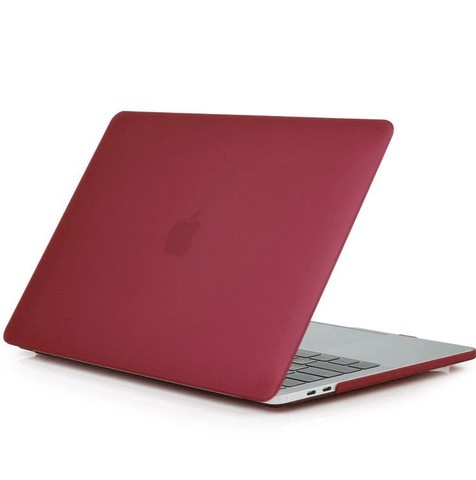 Накладка пластик MacBook Pro 15 Retina New /matte wine red/ DDC