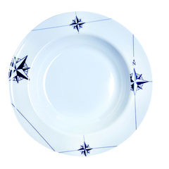 MELAMINE SOUP PLATE, NORTHWIND