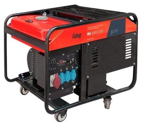 Кожух для бензиновой электростанции Fubag BS 9500 D ES