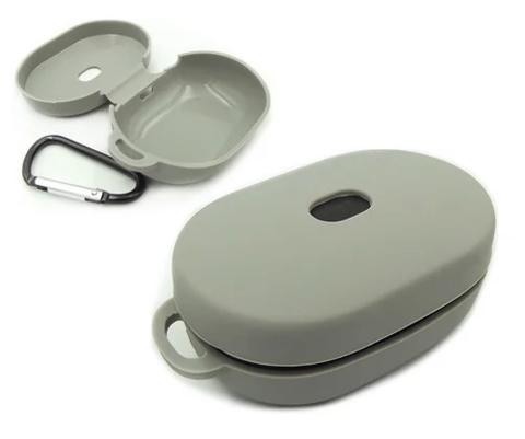 Чехол для Redmi Airdots мягкий силикон | серый