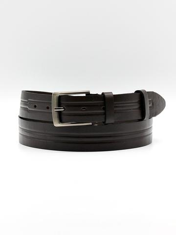 Ремень для брюк тёмно-коричневый Doublecity RC34-08-03