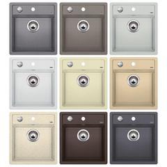 Мойка кухонная Blanco Dalago 45-F Silgranit  - возможные цвета