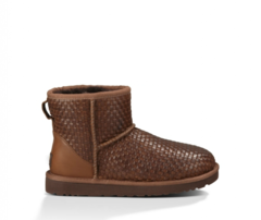 UGG Mini Wover Chocolate