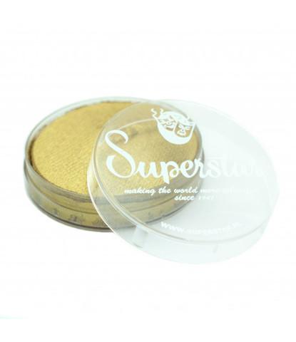 057 Аквагрим Superstar 16 гр перламутровый золотой