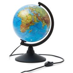 Глобус физико-политический с подсветкой 210 мм