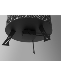Зольник для костровой чаши