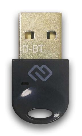 Адаптер USB Digma D-BT400B Bluetooth 4.0+EDR class 1.5 20м черный