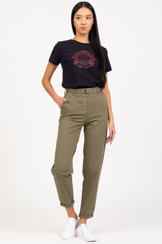 Штаны CO BLEND BELT TAPERED CHINO PANT Tommy Hilfiger