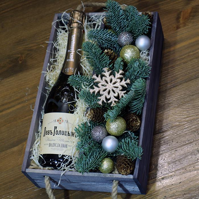 Бутылка шампанского в подарок