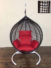 Подвесное кресло Tropica Country Black & White