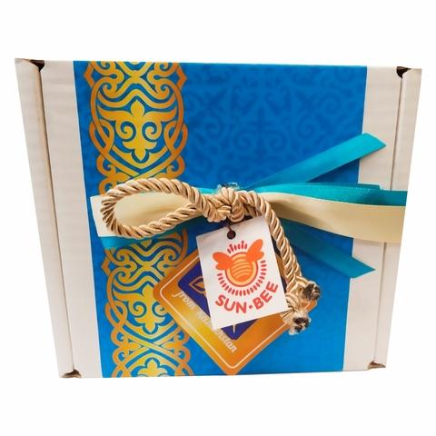 Мед SUN-BEE Подарочная коробочка №3 КАЗАХСТАН