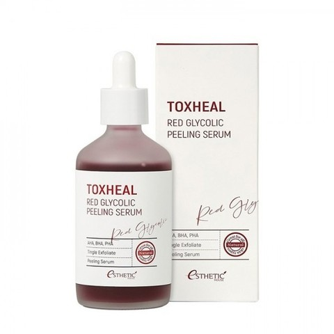 Пилинг-сыворотка гликолевая 100ml ESTHETIC HOUSE Toxheal Red Glycolic Peeling Serum