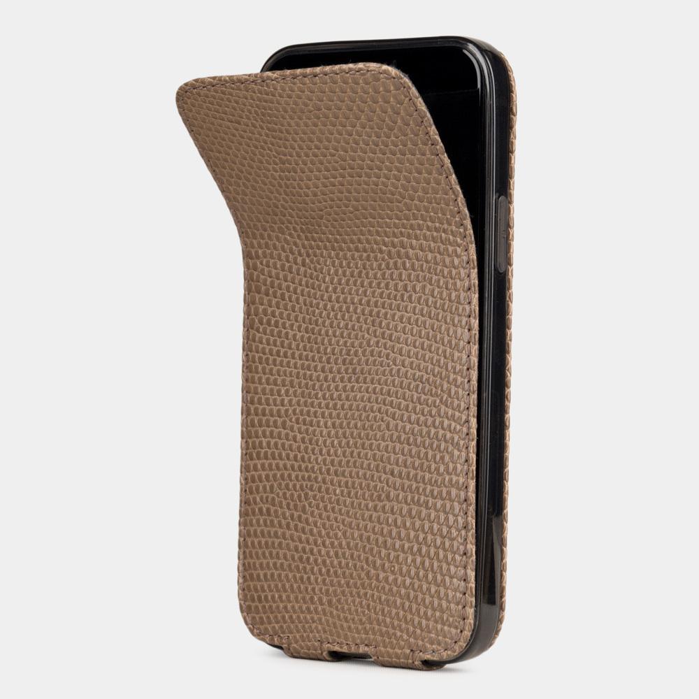 Case for iPhone 12 mini - lizard beige