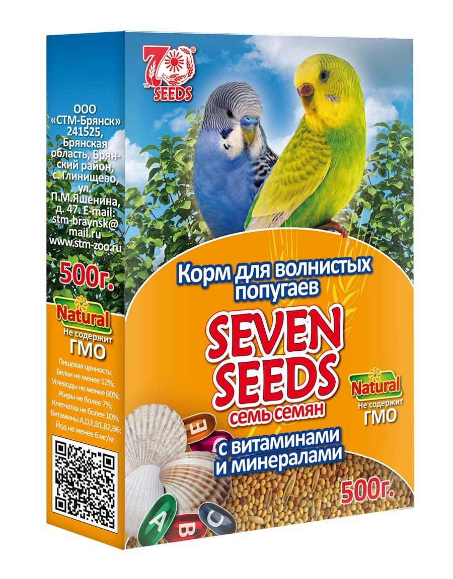 Корм Корм для волнистых попугаев с витаминами и минералами Seven Seeds 43.jpg