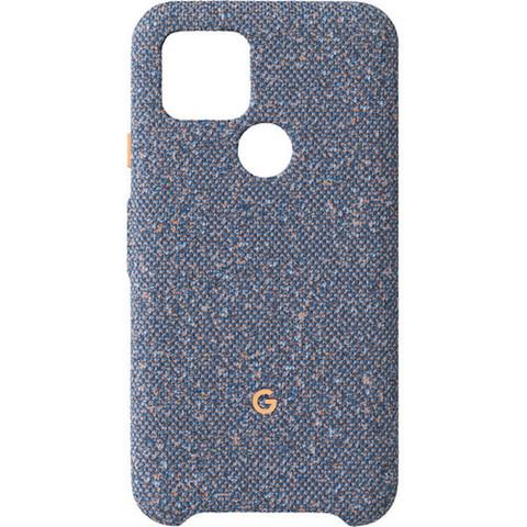 Чехол Google Pixel 5 Fabric Case, Blue Confetti (синий конфетти)