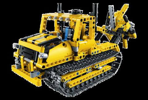 LEGO Technic: Бульдозер 42028 — Bulldozer — Лего Техник