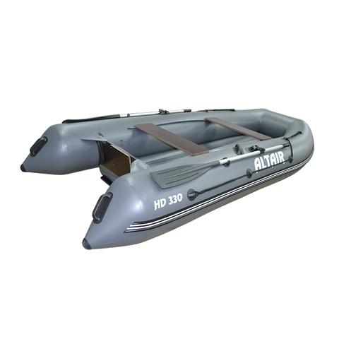 Моторная надувная лодка Альтаир HD 330 НДНД серый