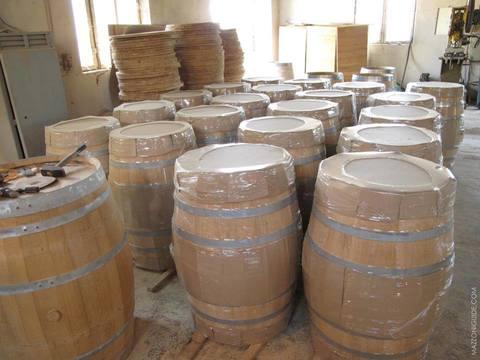 Бочка дубовая, 50 литров, Карабах