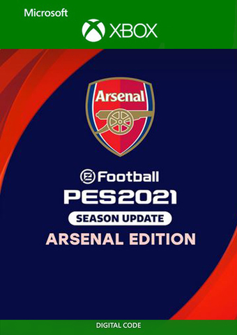 eFootball PES 2021 Season Update ARSENAL EDITION (Xbox One/Series S/X, цифровой ключ, русские субтитры)