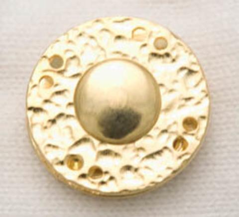 Пришивная кнопка, золотого цвета, 29 мм
