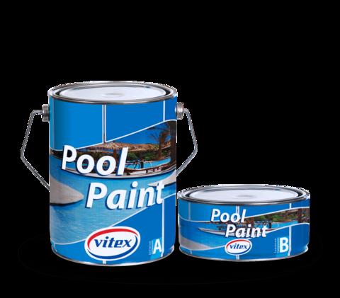 Двухкомпонентная эпоксидная краска для бассейнов -Pool Paint.