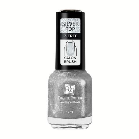 Brigitte Bottier Топ покрытие SILVER серебрянный 12 мл