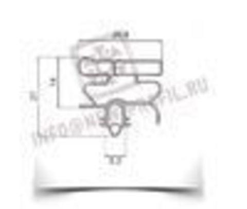 Уплотнитель для холодильника  Electrolux ERB 9192 м.к 680*570 мм (010)