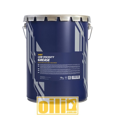 Mannol 9987 Li-EP-00/000 LOW VISCOSITY GREASE 18кг