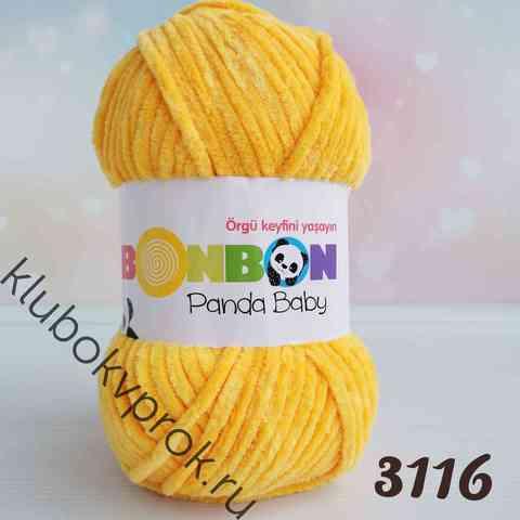 BONBON PANDA BABY 3116, Яркий желтый