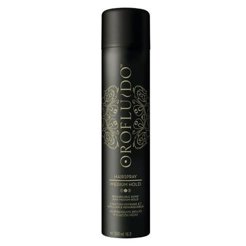 OROFLUIDO: Лак для волос средней фиксации (Medium Hold Hairspray), 500мл