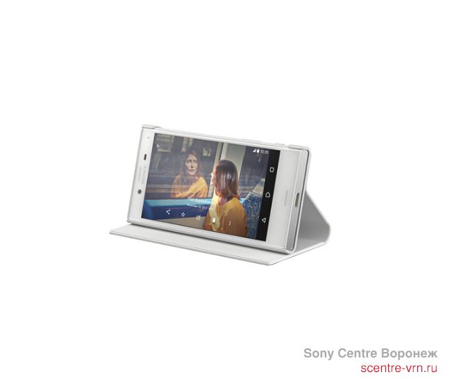 SCSF20WW/W Чехол-подставка Sony для Xperia X Compact, белый