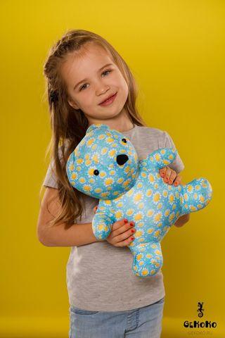 Подушка-игрушка «МиниМишка Ромашковый»-2