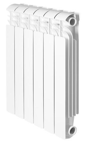Global ISEO 500, 4 секции - радиатор алюминиевый