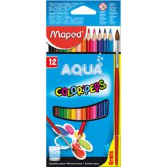 Карандаши цветные Maped 12цв 3 гр L=175 мм D=7 мм