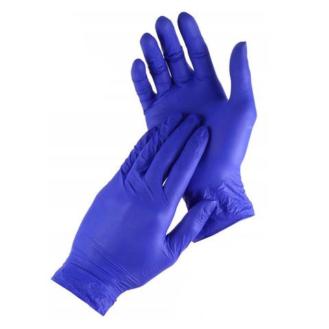 Перчатки нитриловые неопудренные 1шт (размер М)