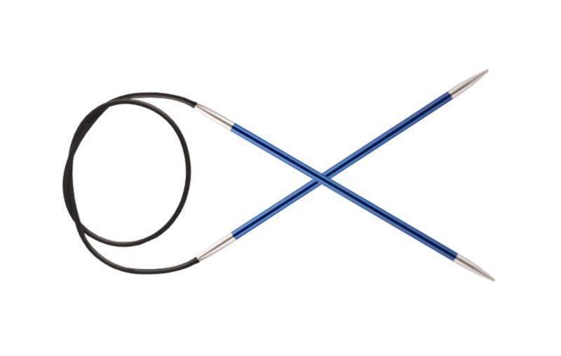 Спицы KnitPro Zing круговые 4.0 мм/80 см 47129