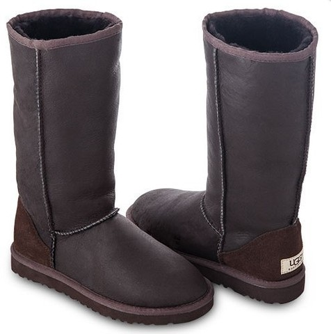 UGG Tall Metallic Chocolate