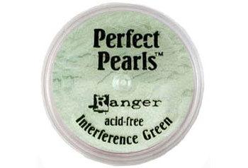 Пигментный порошок  Ranger Perfect Pearls -Interference Green