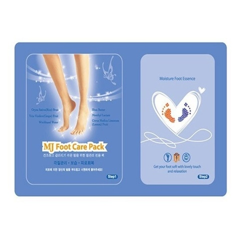 Маска для ног с гиалуроновой кислотой Foot Care Pack от MIJIN