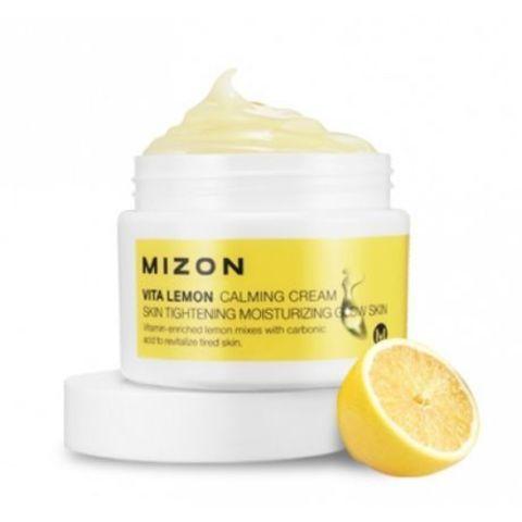 Mizon Vita Lemon Calming Cream успокаивающий крем с экстрактом лимона