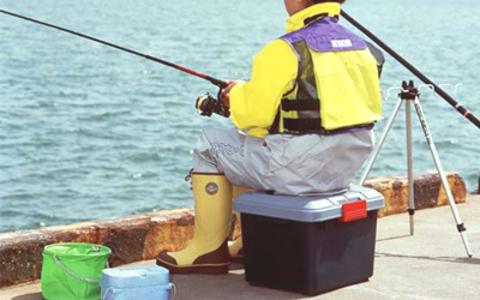 Экспедиционный ящик IRIS RV Box 400, на рыбалке.