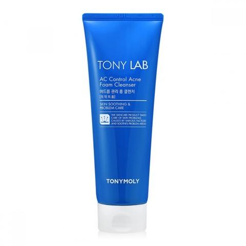 Tony Moly Lab Ac Control Acne Foam антибактериальная пенка для умывания